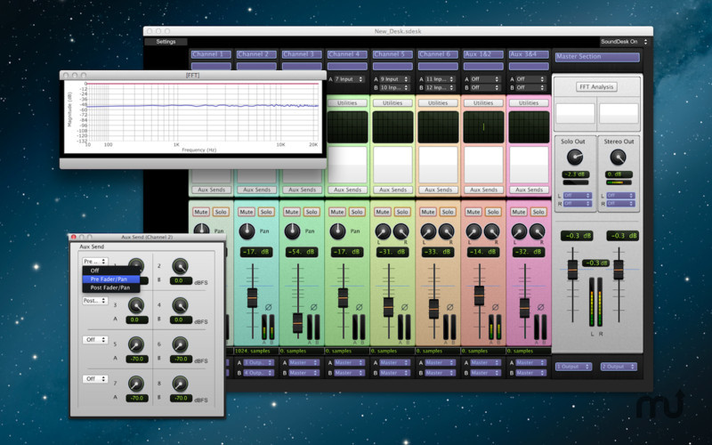 Screenshot 3 for SoundDesk LE
