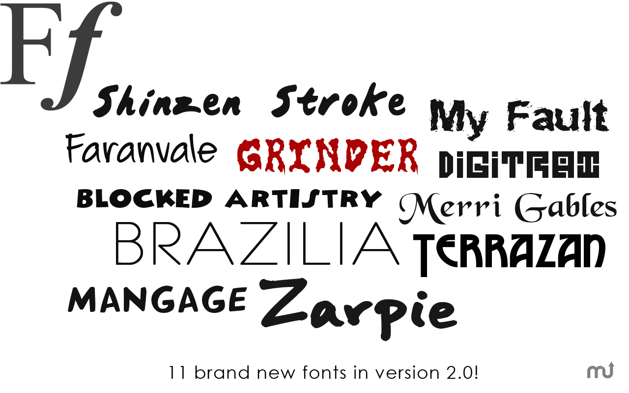 Screenshot 2 for Free Fonts