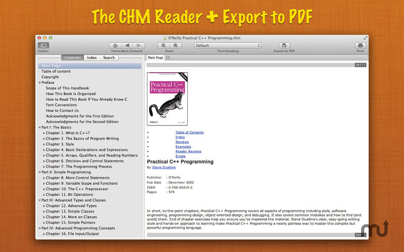 Screenshot 1 for Read CHM+