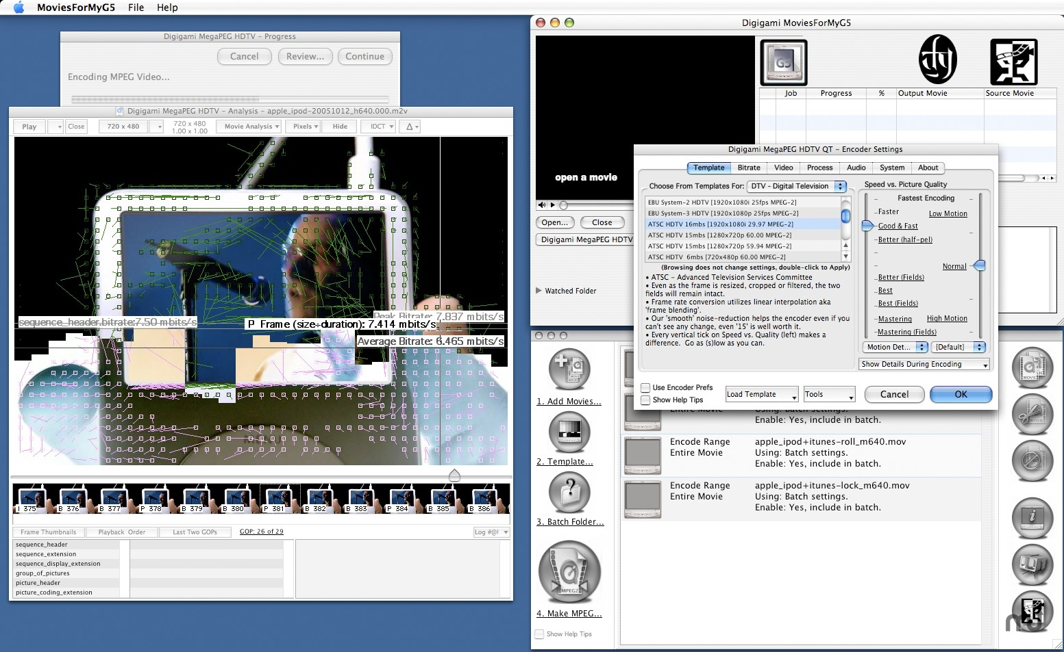 Screenshot 1 for MegaPEG Pro HD