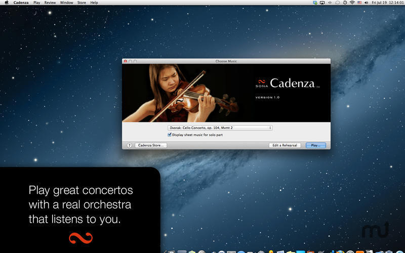 Screenshot 1 for Cadenza