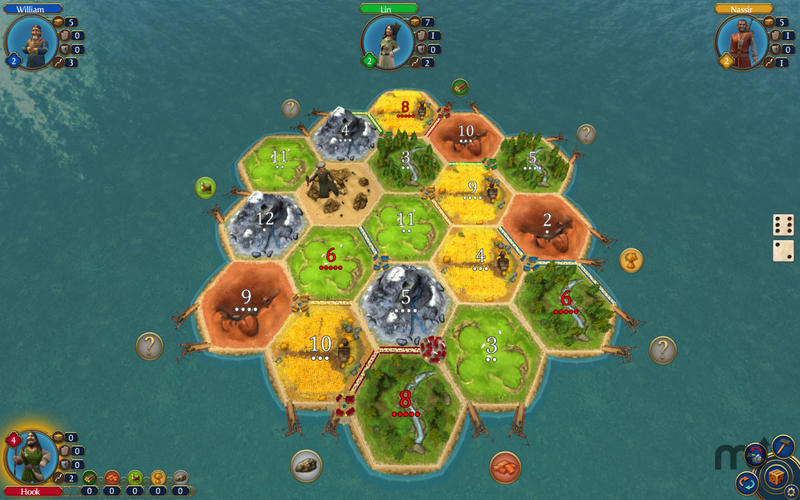 Screenshot 1 for Catan