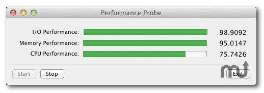 Screenshot 1 for Performance Probe