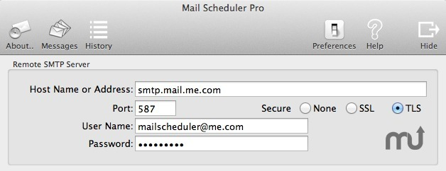 Screenshot 5 for Mail Scheduler Pro
