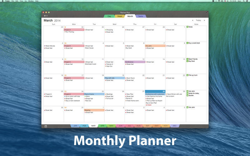 Screenshot 3 for Planner Plus