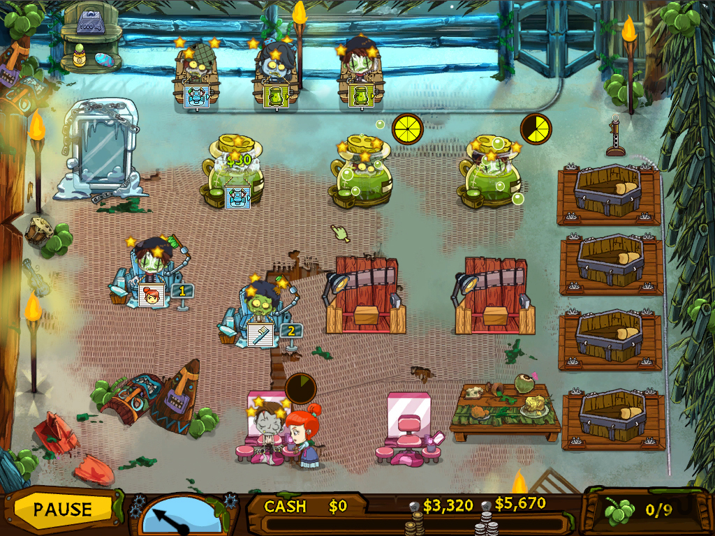 Screenshot 1 for Grave Mania: Pandemic Pandemonium