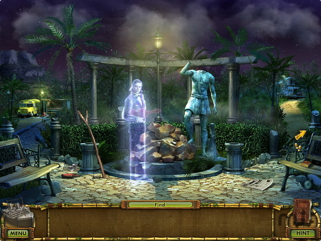Screenshot 1 for The Treasures Of Mystery Island: The Ghost Ship