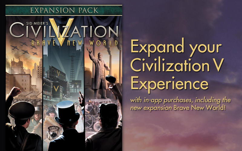 Screenshot 1 for Civilization V: Brave New World