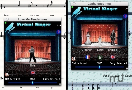 Screenshot 1 for Virtual Singer