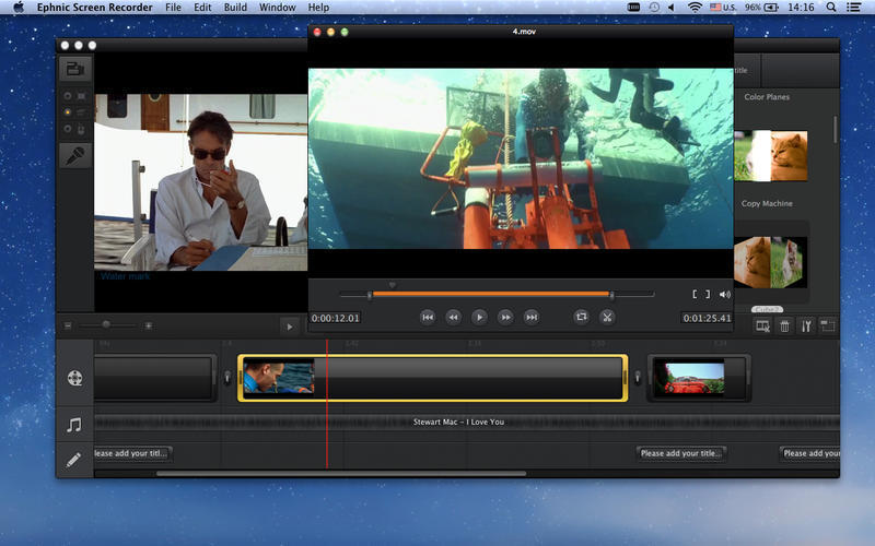 Screenshot 1 for Ephnic Screen Recorder