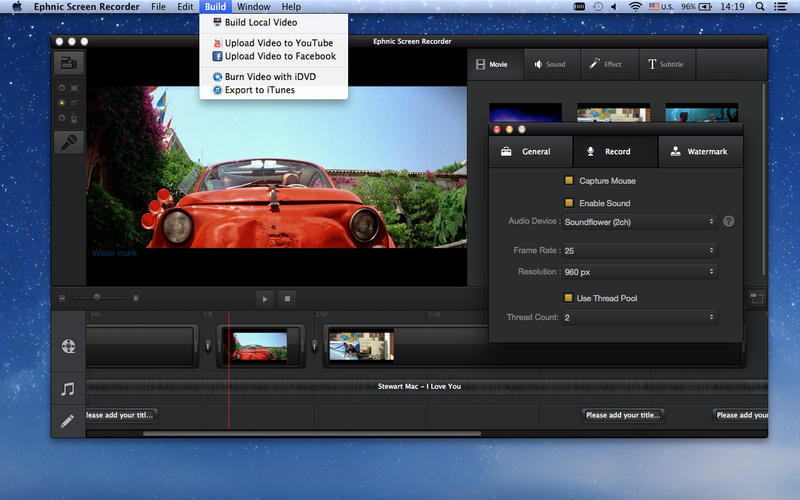 Screenshot 5 for Ephnic Screen Recorder