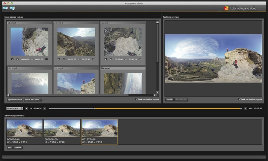 Screenshot 1 for Autopano Video