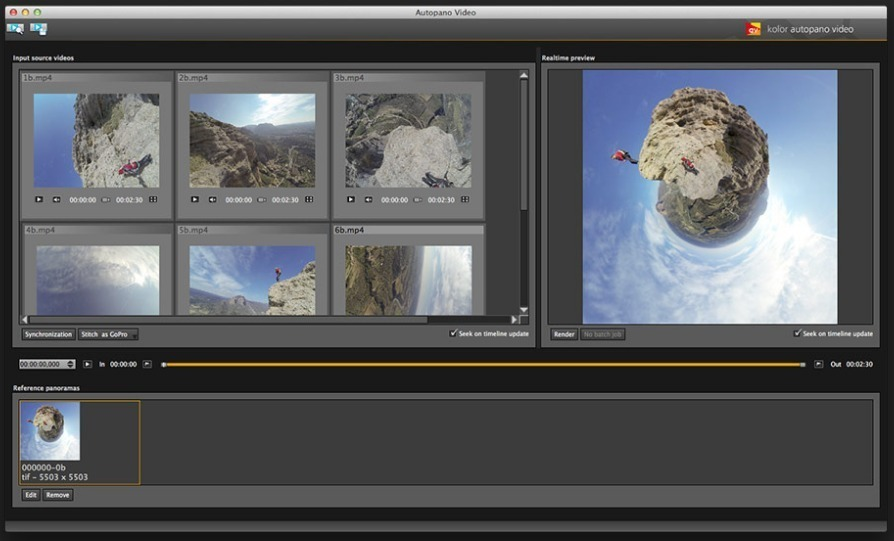 Screenshot 2 for Autopano Video