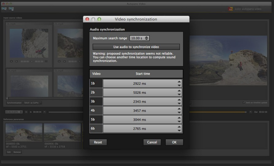 Screenshot 3 for Autopano Video