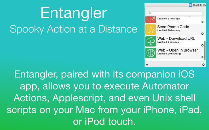 Screenshot 1 for Entangler