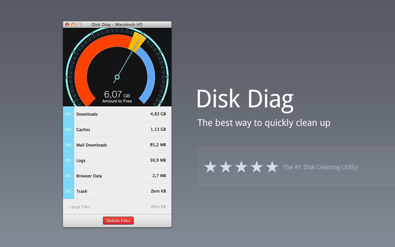 Screenshot 1 for Disk Diag