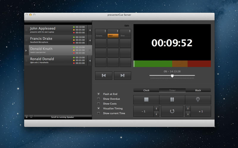 Screenshot 1 for presenterCue