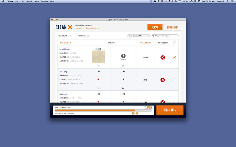 Screenshot 3 for CleanX