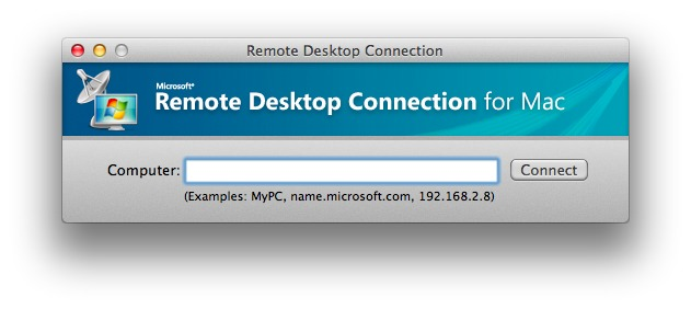 Screenshot 1 for Remote Desktop Connection