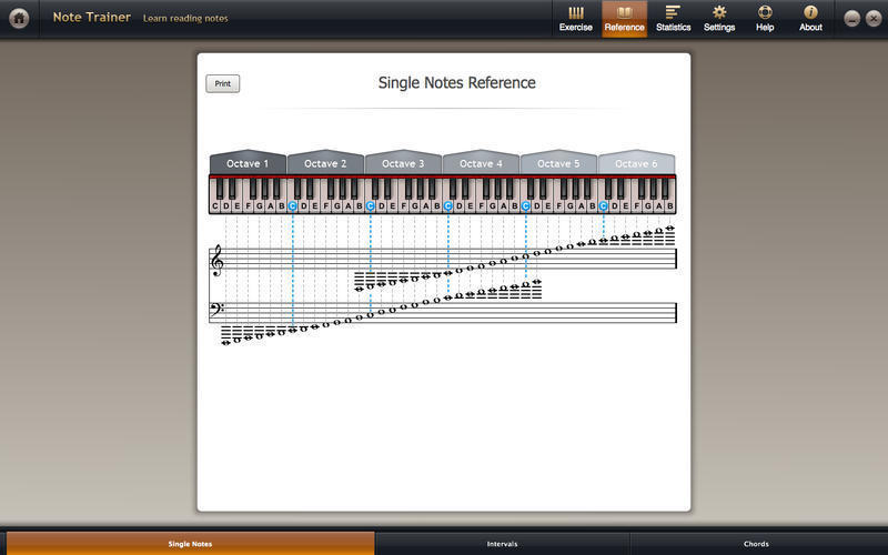 Screenshot 2 for Solfeggio Studio for Piano