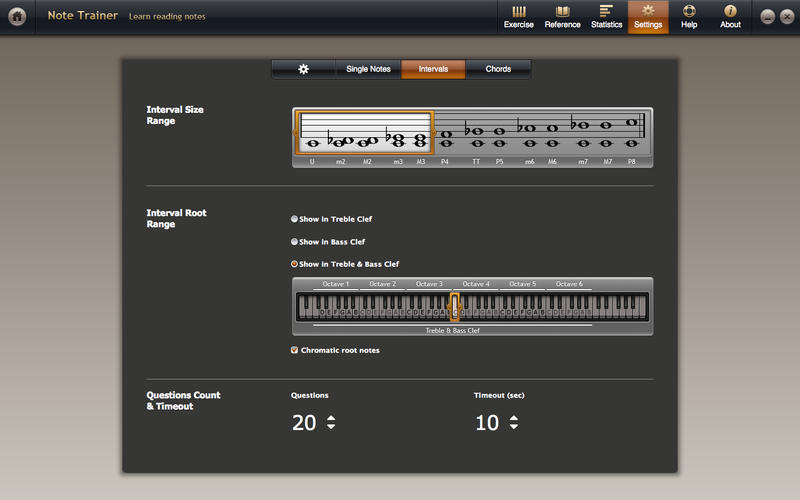 Screenshot 4 for Solfeggio Studio for Piano