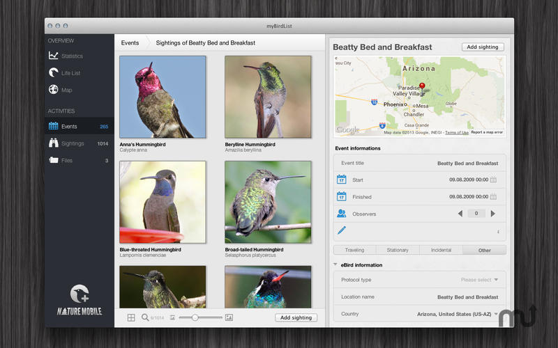 Screenshot 4 for myBirdList