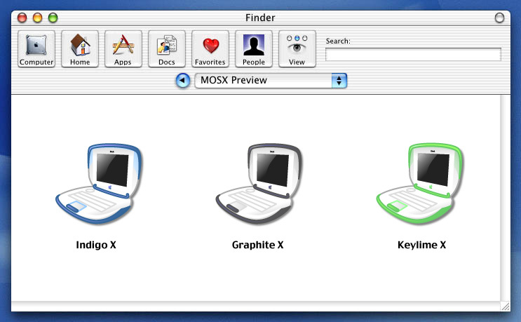 Screenshot 1 for iBook OSX Icons
