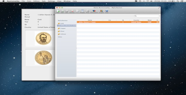 Screenshot 1 for Numismatika