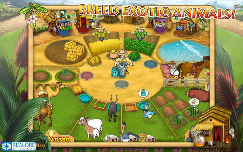 Screenshot 1 for Farm Mania: Hot Vacation