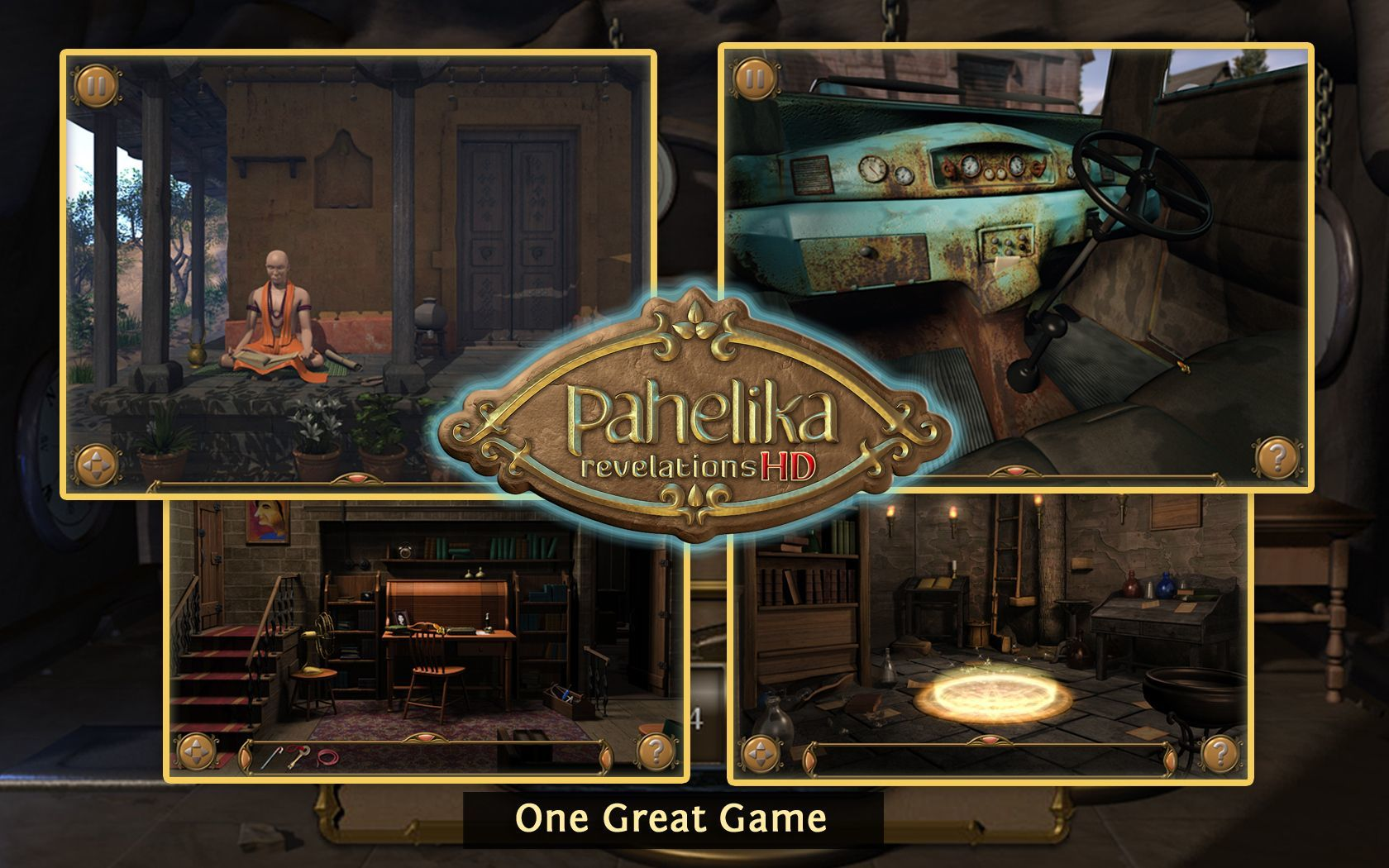 Screenshot 1 for Pahelika: Revelations HD