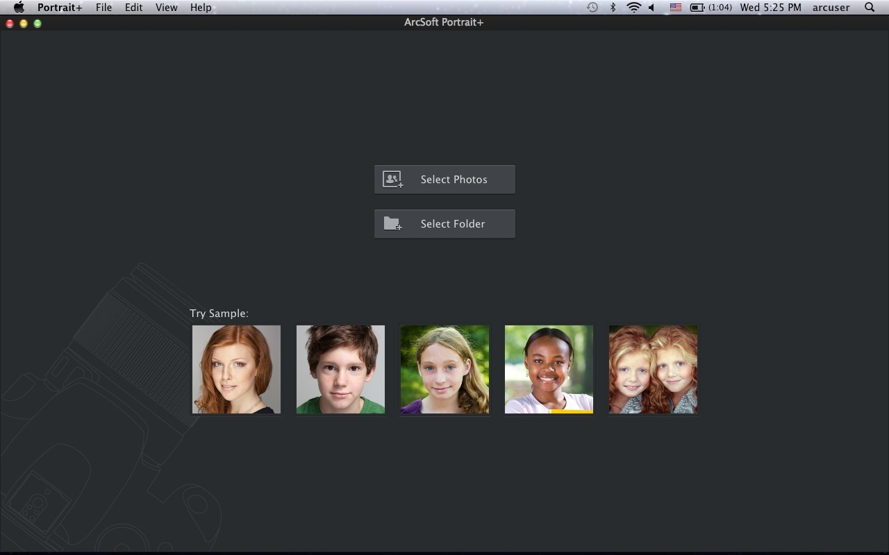 Screenshot 1 for Portrait+