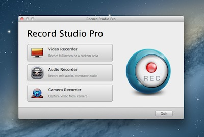 Screenshot 1 for Record Studio Pro