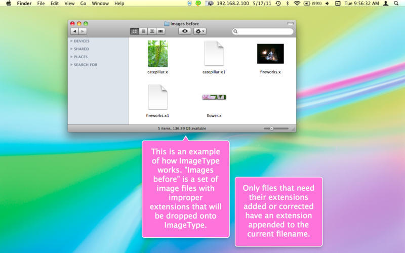 Screenshot 3 for ImageType