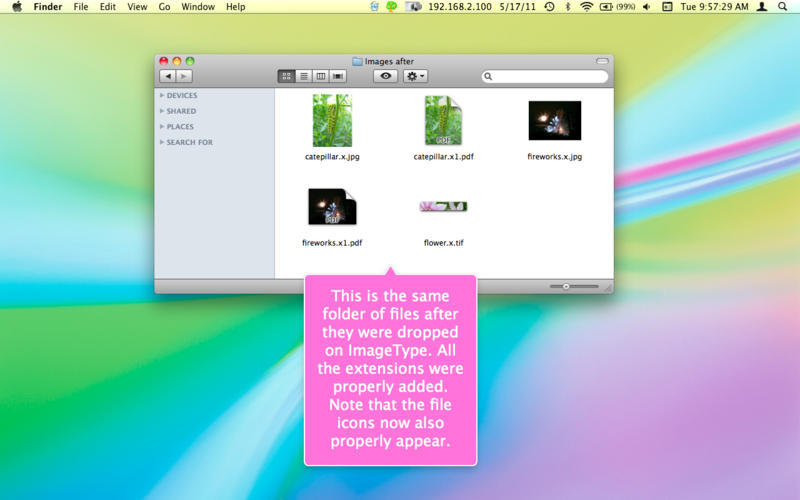 Screenshot 4 for ImageType