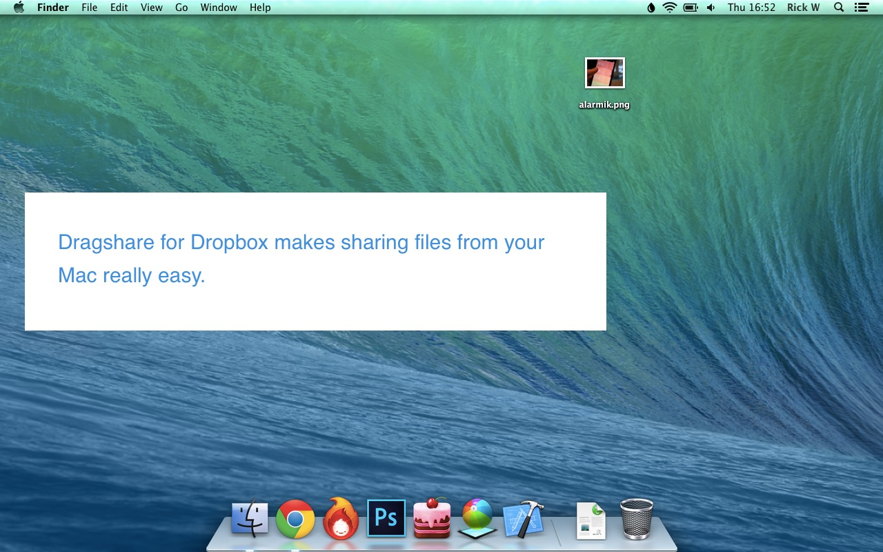 Screenshot 1 for Dragshare for Dropbox