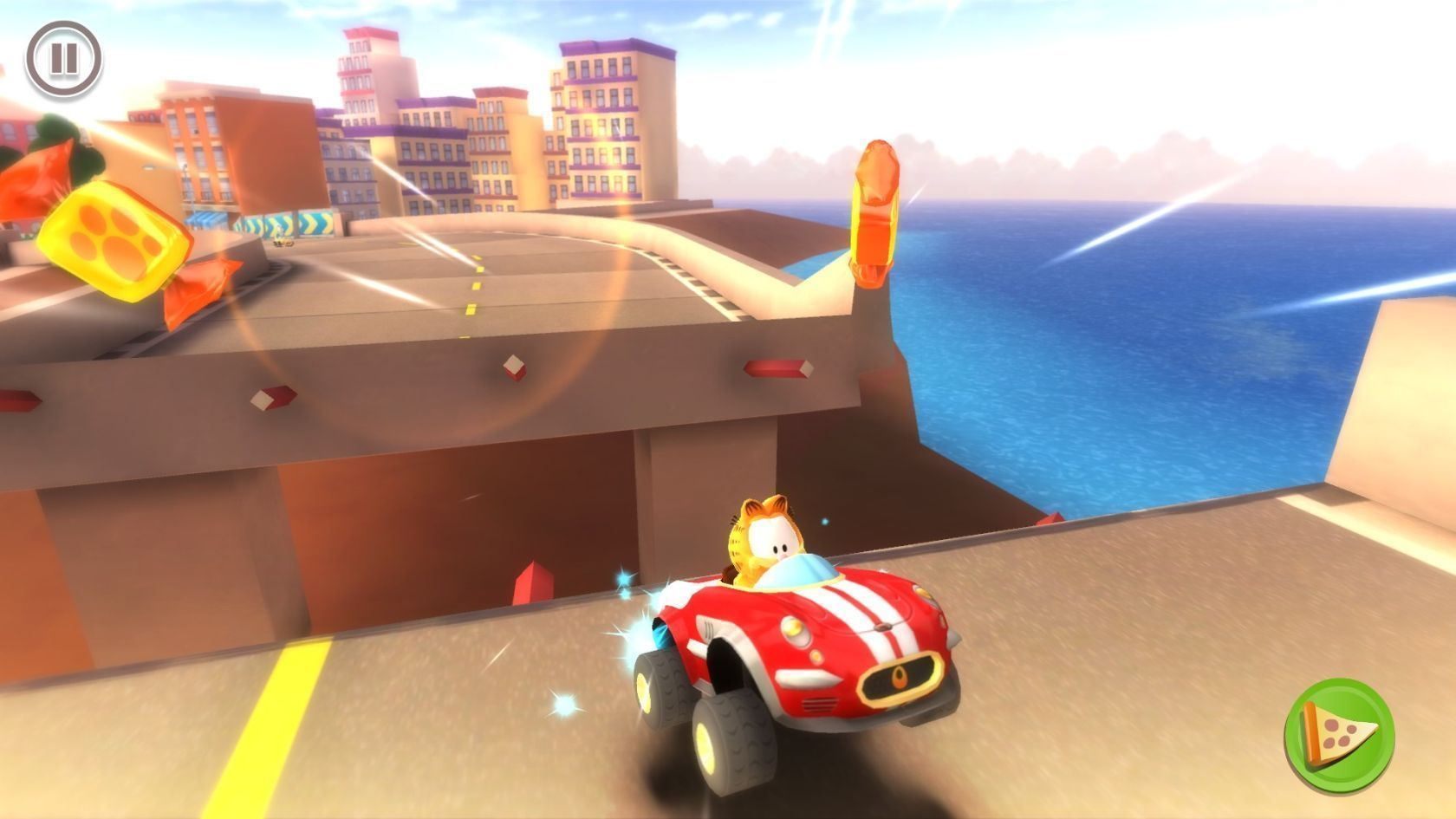 Screenshot 1 for Garfield Kart