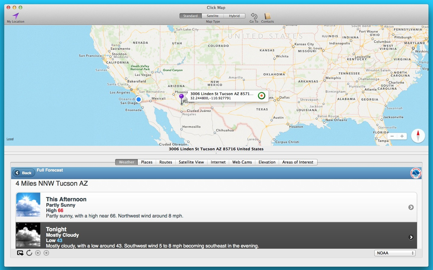 Screenshot 1 for Click Map