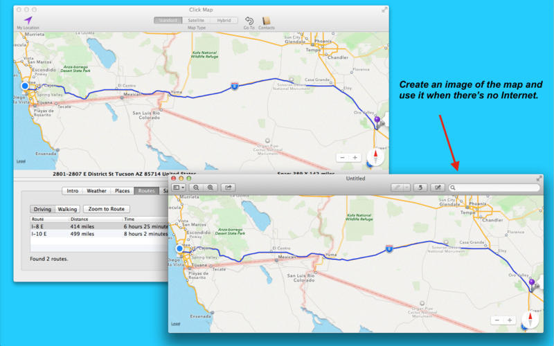 Screenshot 2 for Click Map