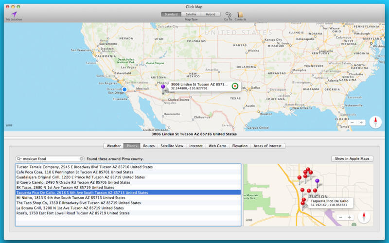 Screenshot 3 for Click Map