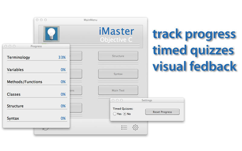 Screenshot 1 for iMaster Objective C