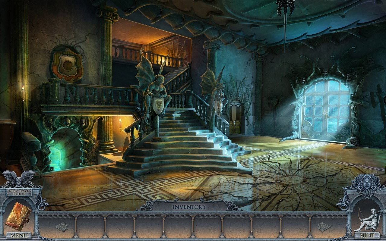 Screenshot 1 for Secrets of the Dark: Mystery of the Ancestral Estate CE