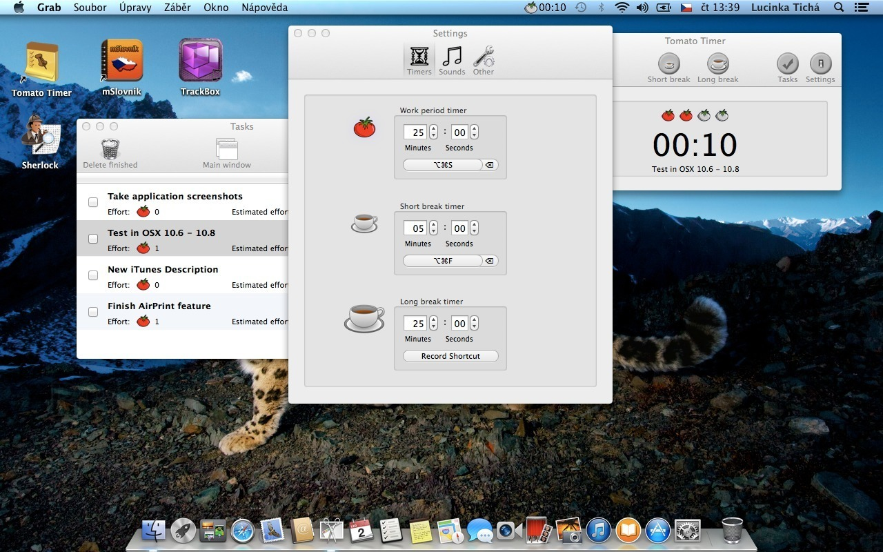 Screenshot 1 for Tomato Timer