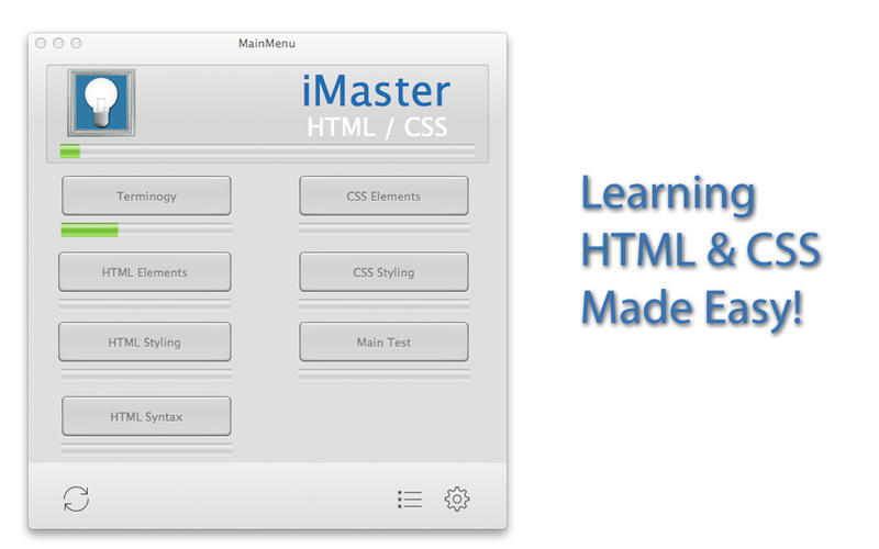 Screenshot 1 for iMaster HTML & CSS