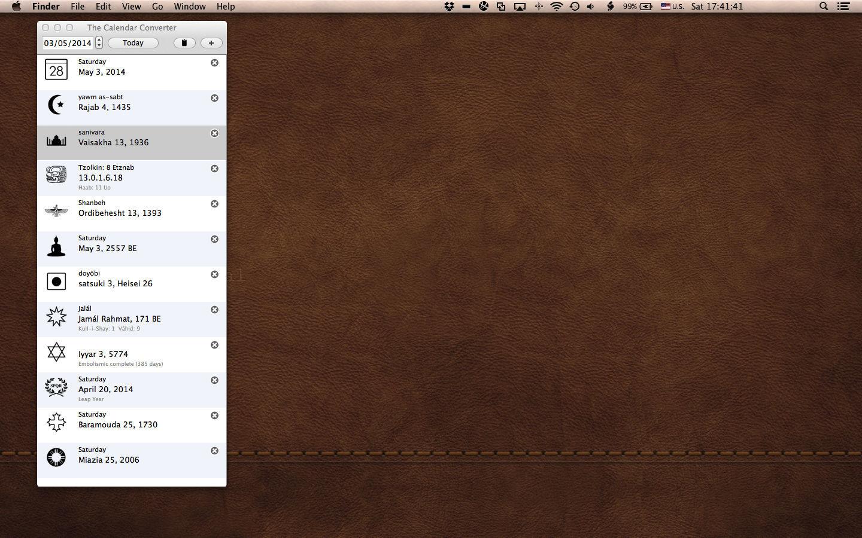 The Calendar Converter for Mac | MacUpdate