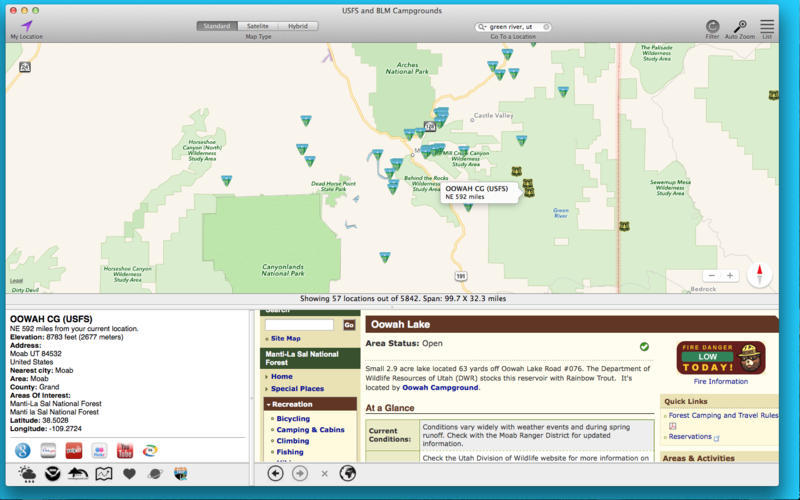 Screenshot 3 for USFS and BLM Campgrounds