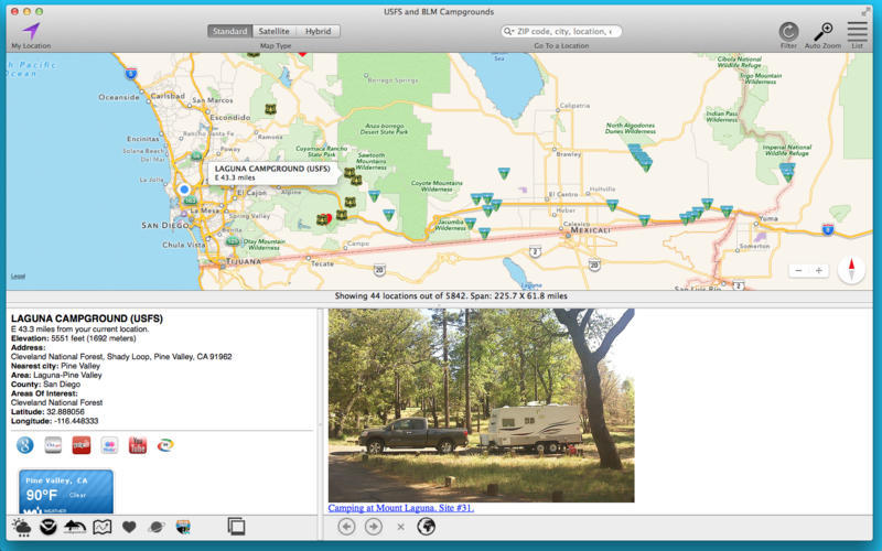 Screenshot 5 for USFS and BLM Campgrounds