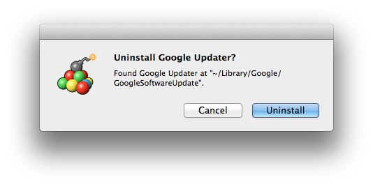 Screenshot 1 for Google Update Uninstaller