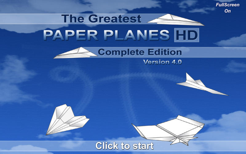 Screenshot 1 for The Greatest Paper Planes