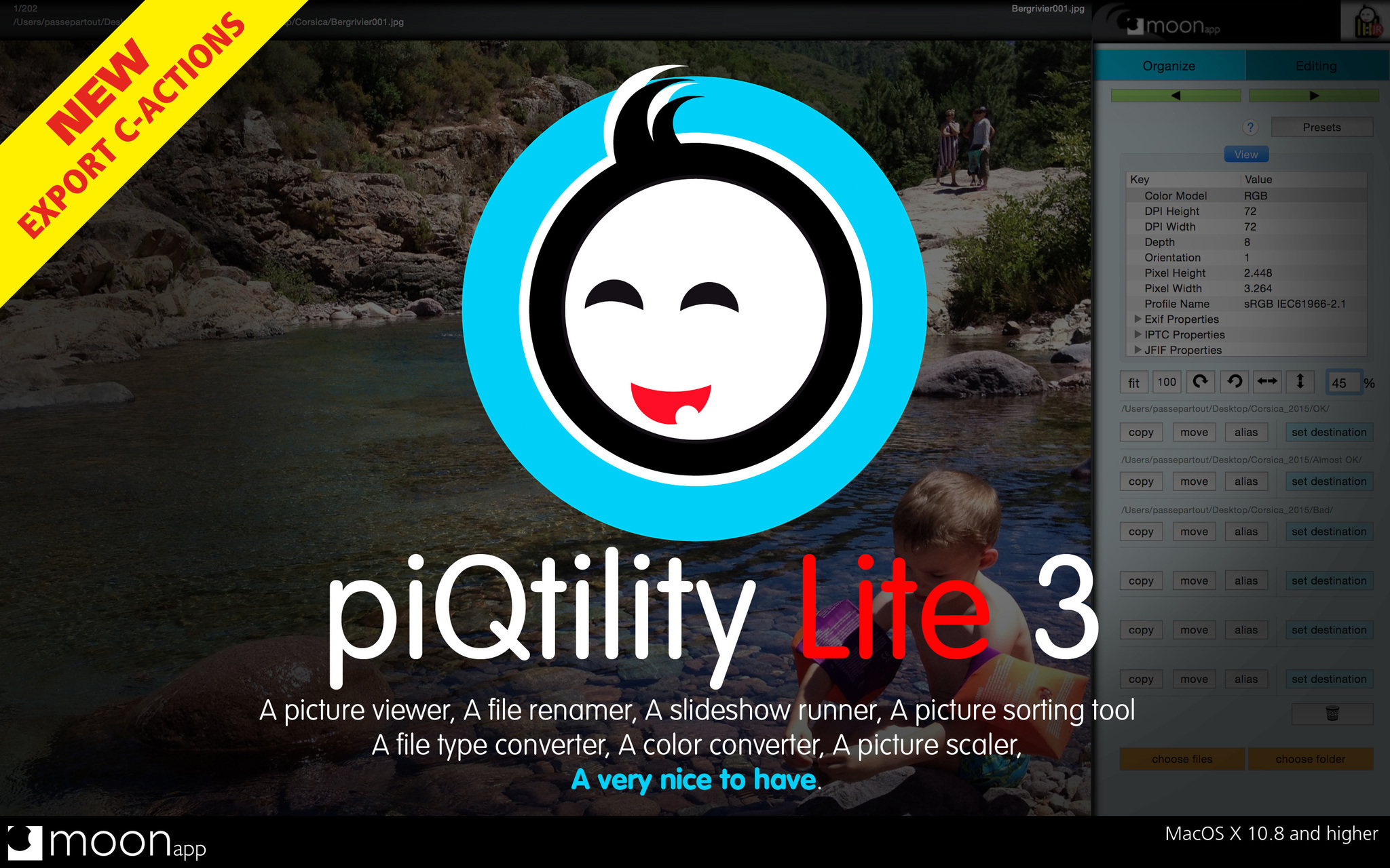 Screenshot 1 for piQtility Lite