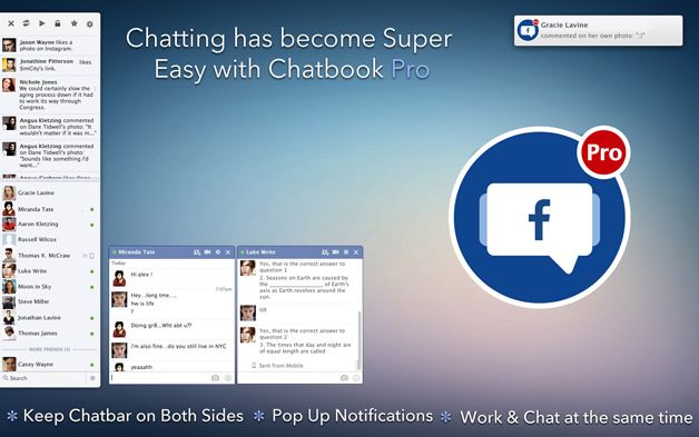 Screenshot 1 for ChatBook Pro